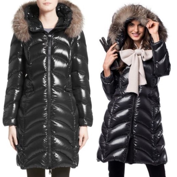 3905d4b96e4 Moncler Jackets & Coats | Brand New Albizia Down Puffer Fur Coat ...